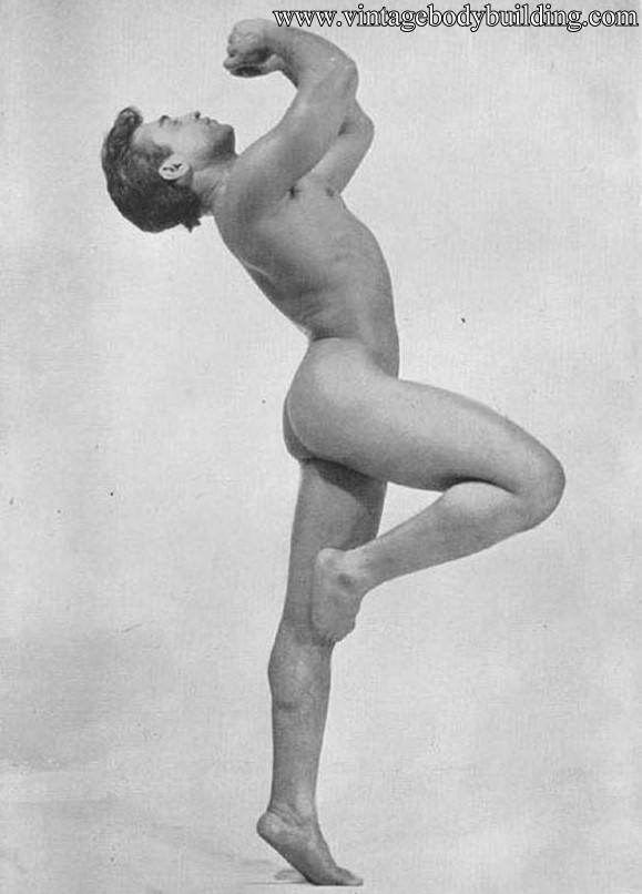 muscle man photo art