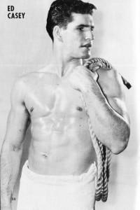 vintage muscle sailor man