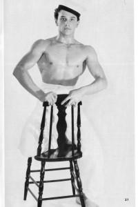 male physique vintage sailors