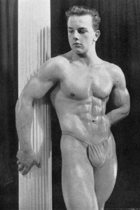 male physique vintage photo art