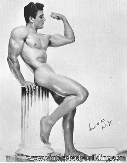 vintage bodybuilder photography