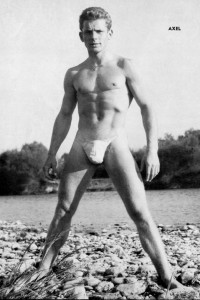 male physique vintage photography