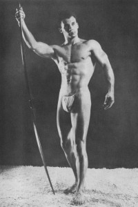 physique vintage photo art