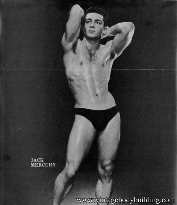 vintage male physique phota art