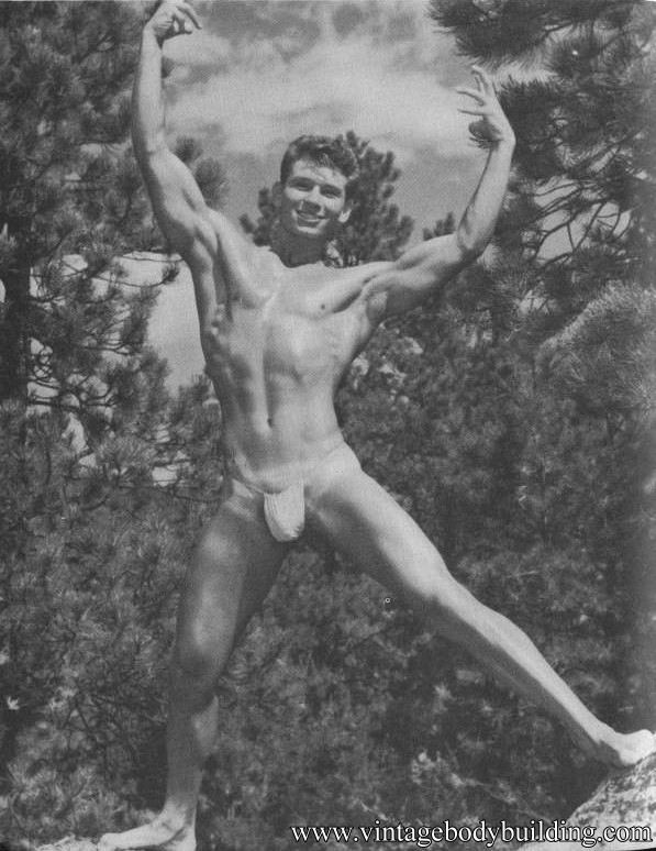 beautiful physique vintage photography