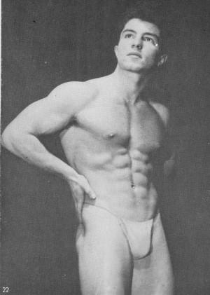 ma;e vintage physique photography
