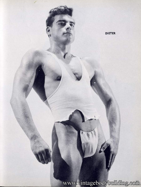 very sexy vintage bodybuilder