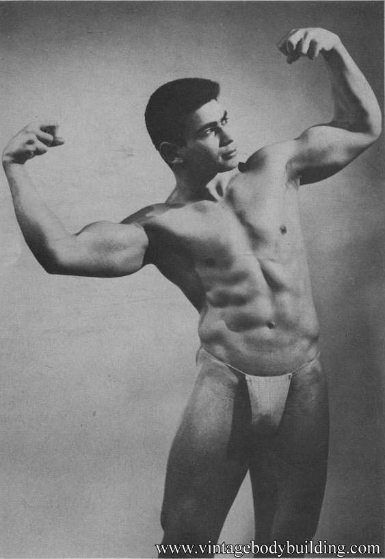 very beautiful bodybuilder Artie Adelman