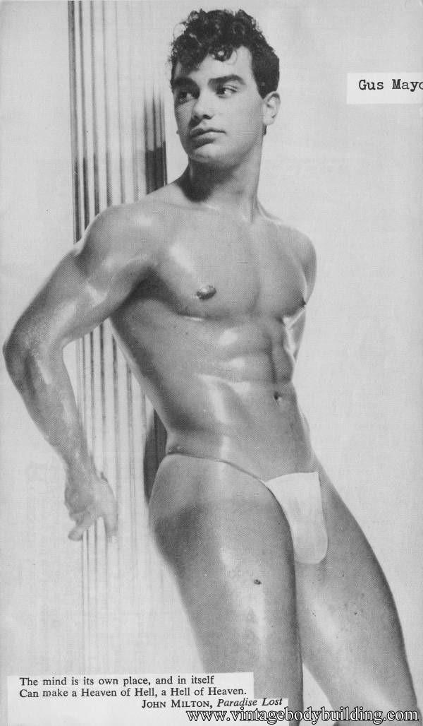 very beautiful muscle male model