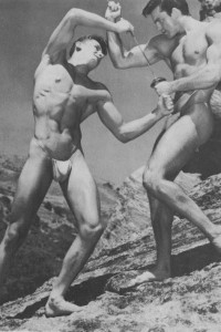 two bodybuilder by Western Photography Guild