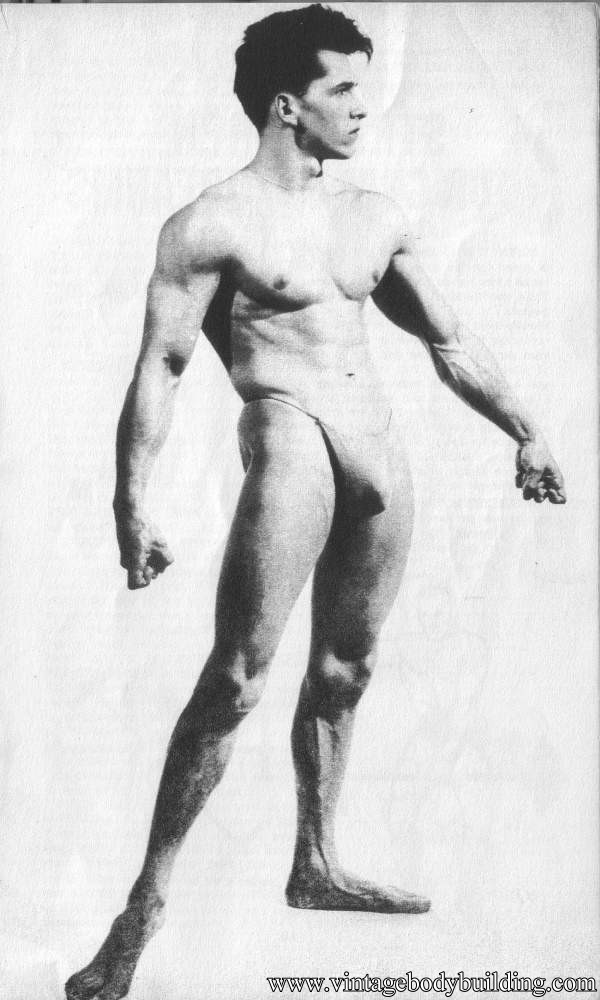vintage muscle model from American Apollo magazine
