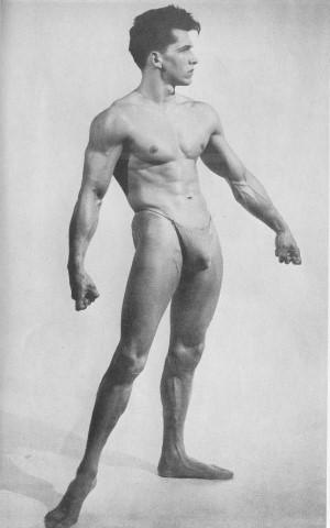 beautiful muscle male model