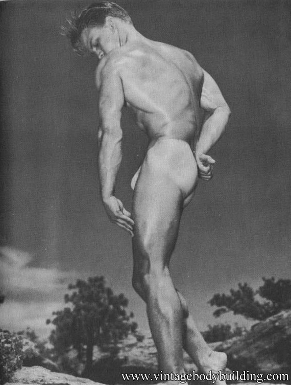 Western Photography Guild vintage physique