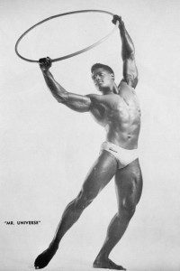 vintage black bodybuilder