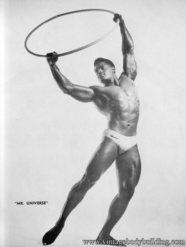 black bodybuilder Paul Wynter