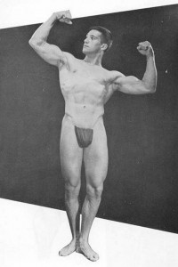 physique vintage muscle boy