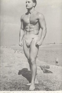 physique male vintage photography