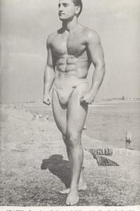 physique male vintage photography