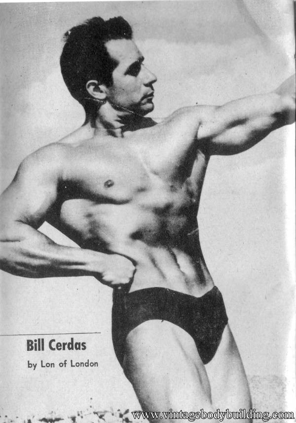 bodybuilder Bill Cerdas