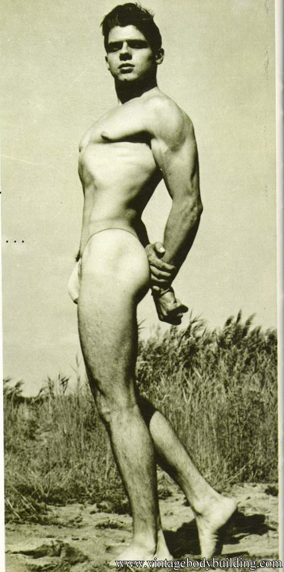 vintage bodybuilding photo
