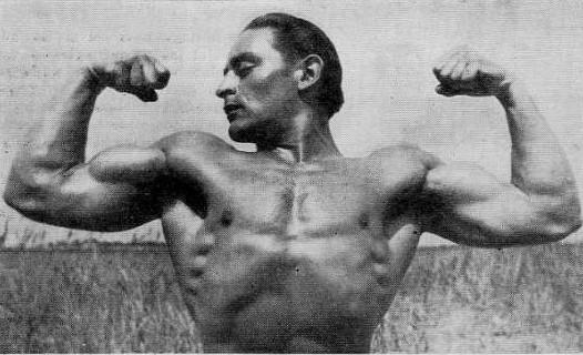 Bodybuilder Joe Thaler