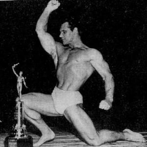 famous bodybuilder Jonh Grimek