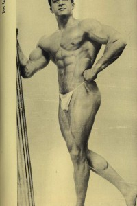male vintage physique image of 1957