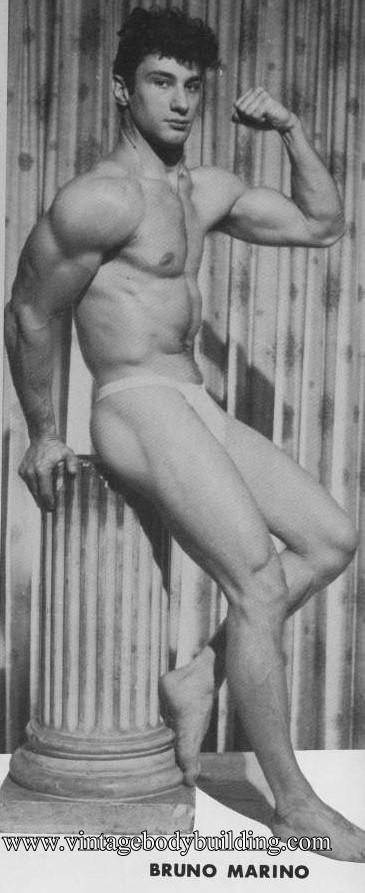 beautiful bodybuilder Bruno Marino