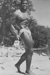 black muscle man beautiful photo