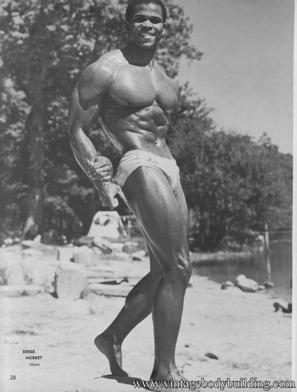 magnificent black bodybuilder Serge Nubret