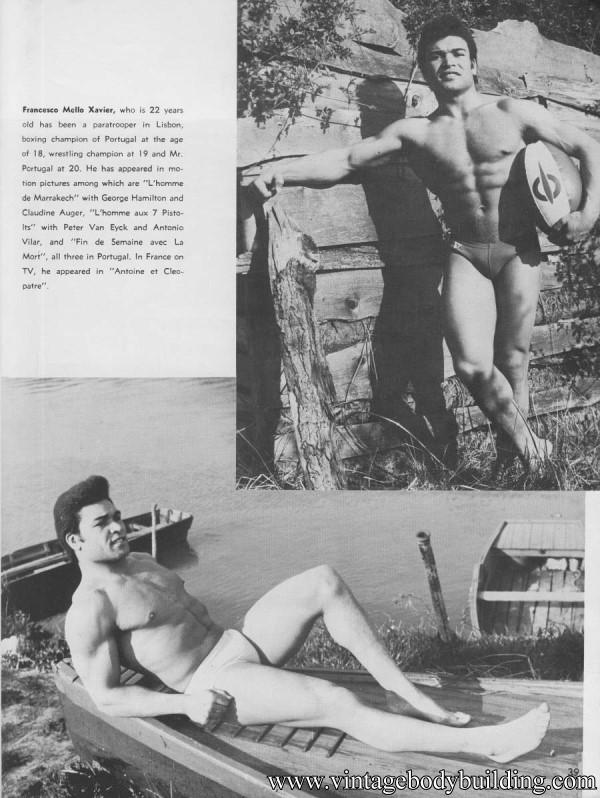 vintage physique photo art