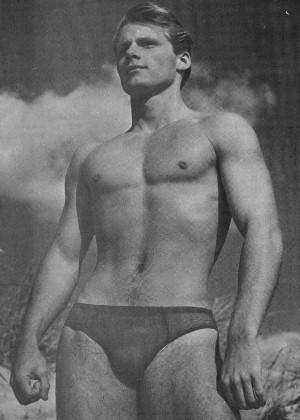 Famous bodybuilder Jim Stryker by Champion studio