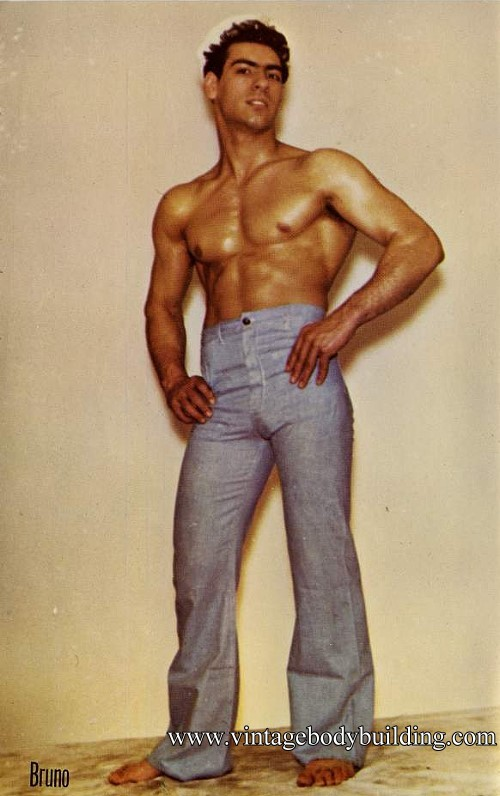 very beautiful muscle man