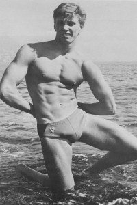 beautiful vintage bodybuilder