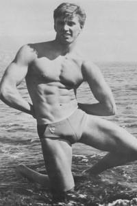 beautiful vintage bodybuilder