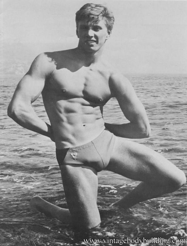 bodybuilder Gene Mory