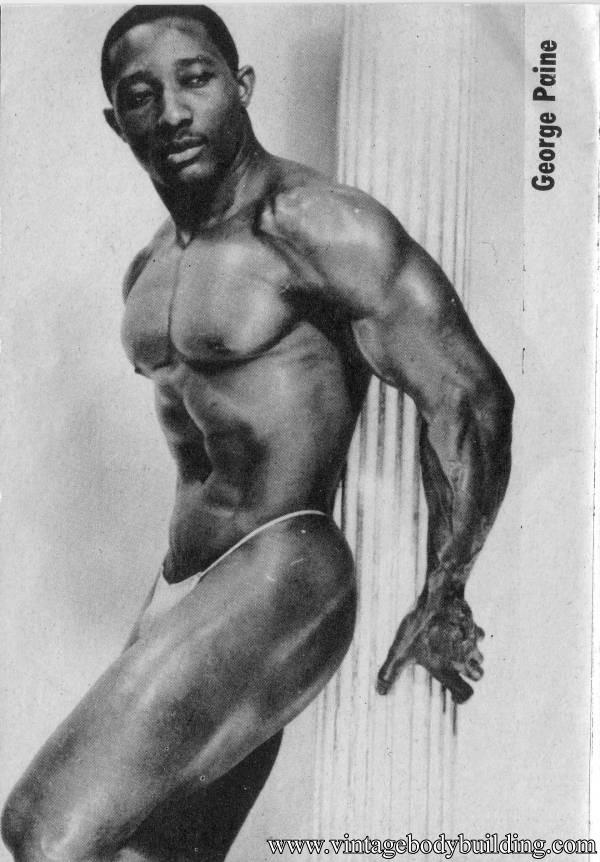 Bodybuilder George Paine