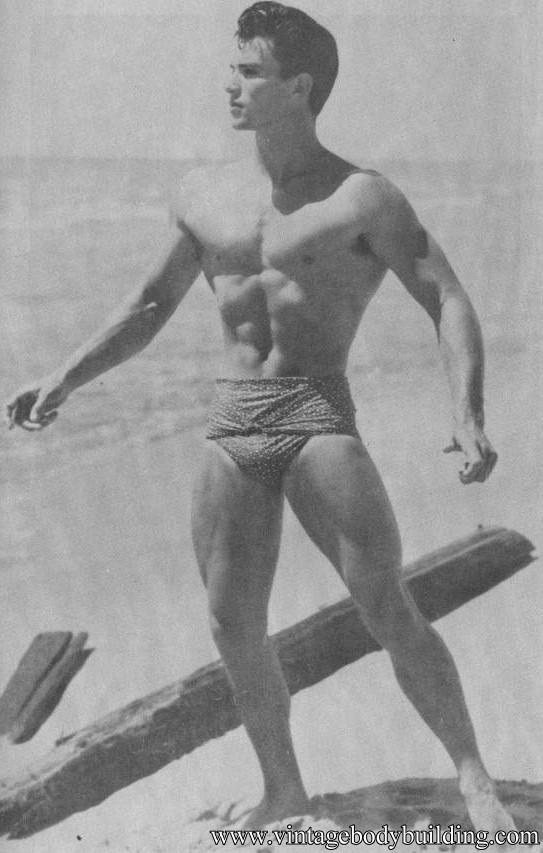 vintage male physique