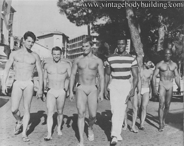 vintage physique photo art by Jean Ferrero