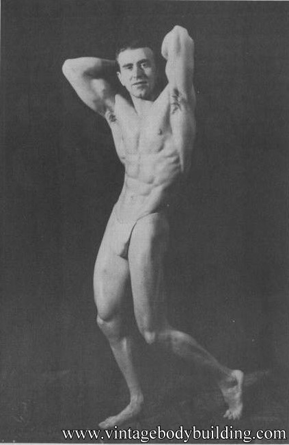 Italian bodybuilder vintage photo