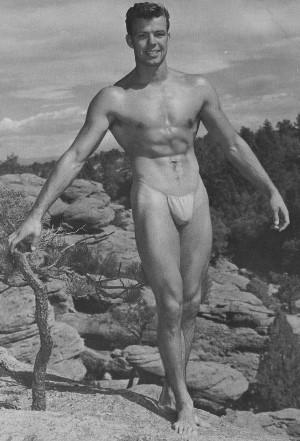 Muscle model Keith Wegeman