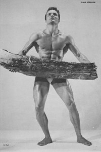 Muscle male model Klaus Strulick by Jan Eyck