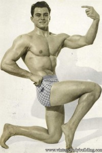 vintage male physique