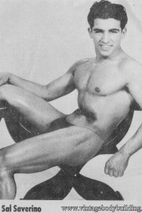 Famous bodybuilder Sal Saverino