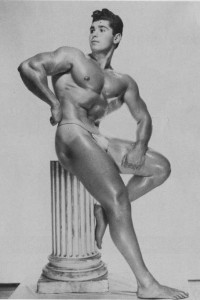 Super beautiful photo of vintage bodybuilder