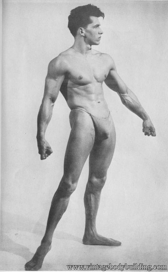 male vintage physique
