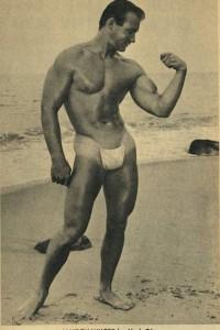 male vintage physique photography