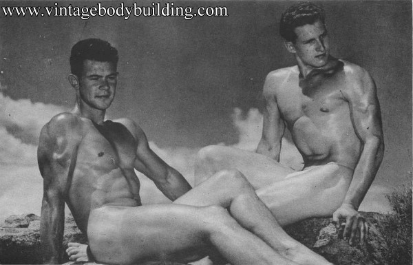 vintage bodybuilding image