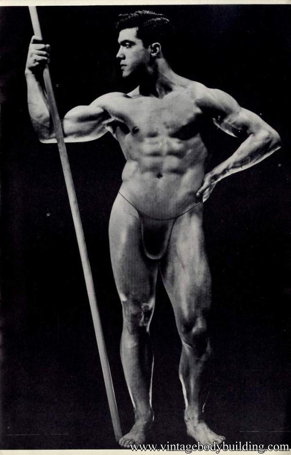 vintage bodybuilder photo