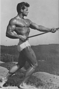 Famous vintage muscle model